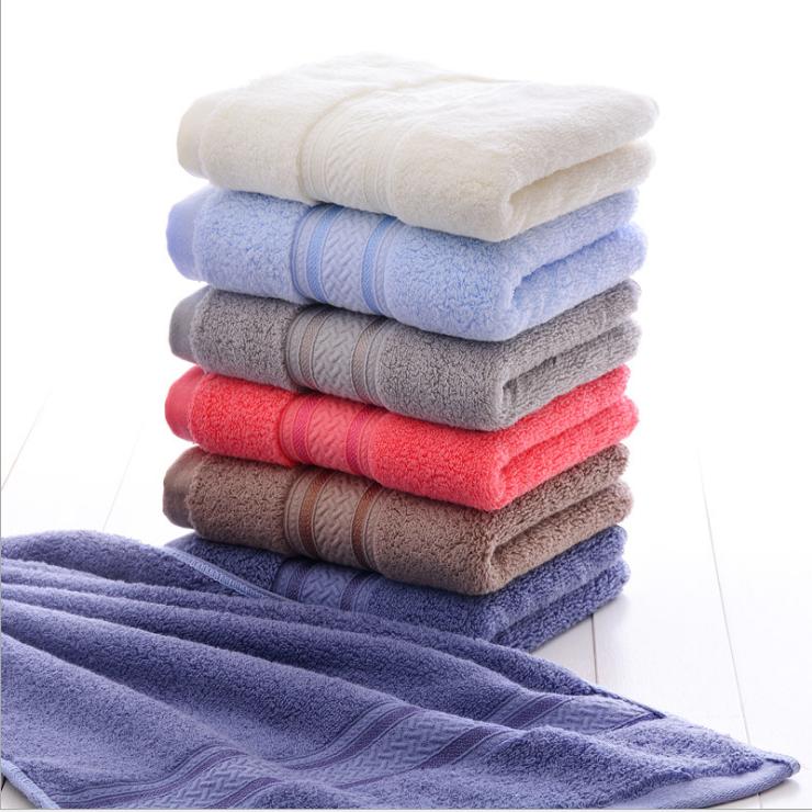 100% Cotton Wholesale Cheap Customized Plain Bath Towels