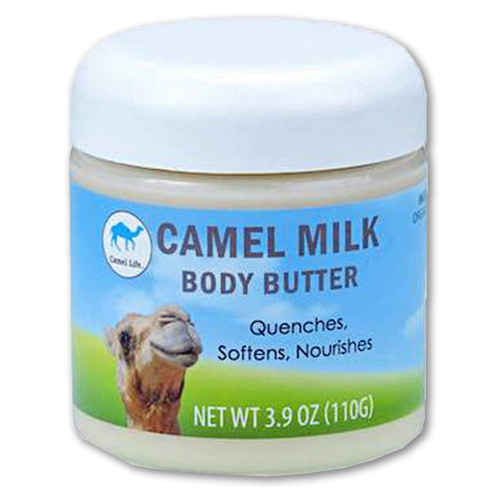 Camel Life / Camel Milk Body Butter - Unscented / Moisturizing treatment butter / Naturally protective restorative proteins / non-greasy Shea butter formulation / 3.9 oz tub