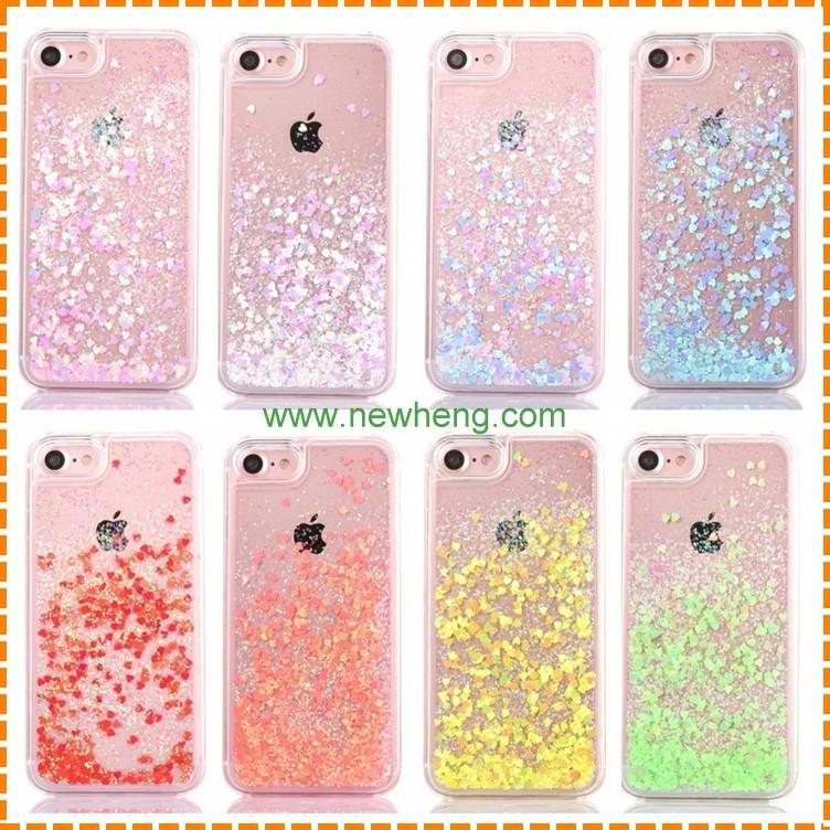 new products 04312 3dda5 Phone Case Glitter Liquid Water Cover Back Quicksand Designer Mobile Phone  Case For Iphone 7 Plus - Buy Glitter Liquid Case For Iphone 7 Plus,Liquid  ...