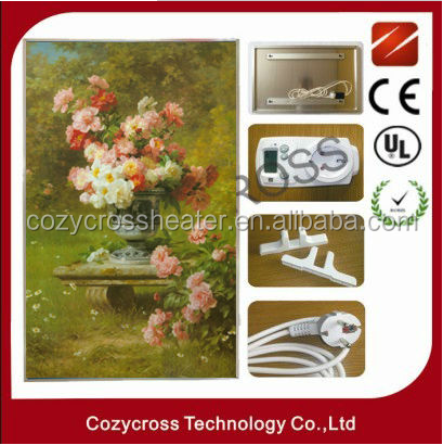 DIY painting for Far infrared carbon crystal panel heater
