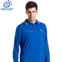 Hottest Design Man's Quick Dry Long Sleeve 100% Polyester Eyelet T-shirt,Polo Shirt ,Golf Shirt