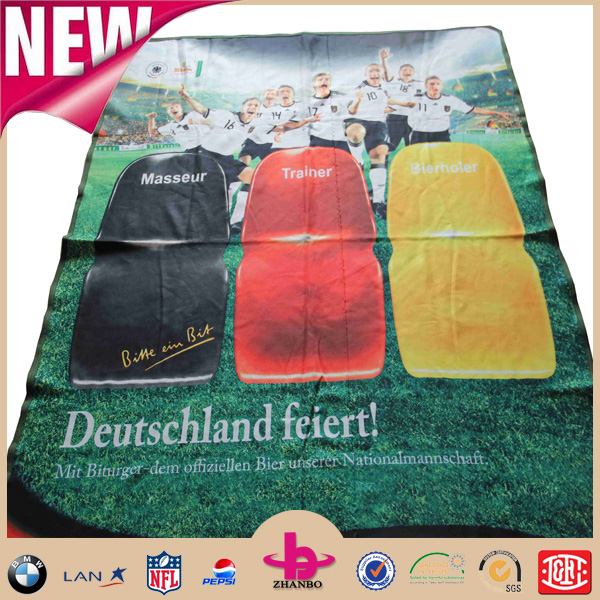 super clear stampa digitale coperta in pile picnic impermeabile