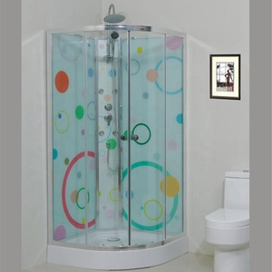 toilet glass aluminum ready made hydro massage steam simple