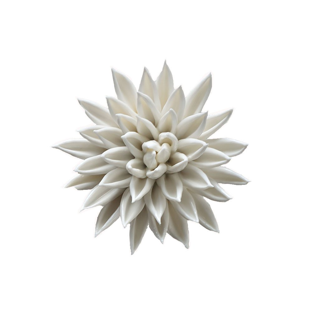 Alycaso Ceramic Flower Wall Decor