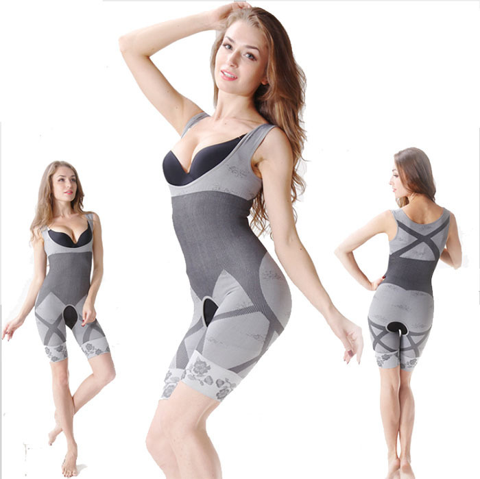 1bcf26273c4e1 Get Quotations · Women s High Quality Slim Corset Slimming Suits Body  Shaper Bamboo Charcoal Sculpting Underwear 6 Size Free