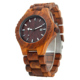 Factory direct wholesale 100% natural wood watch q&q quartz watch water resist 5 bar