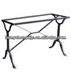 Powder Coated Hot Sale Antique Cast Iron Bar Table Base Hs-090 ...