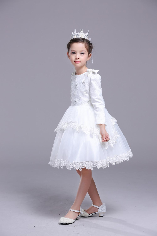 641e0031a Bebé Niños Niñas De Una Pieza Vestido Formal