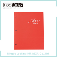 LOOKING Luxury A4 Size 2 Pocket Paper Portfolio