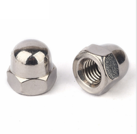 GB1587 stainless steel m2 domed cap nut
