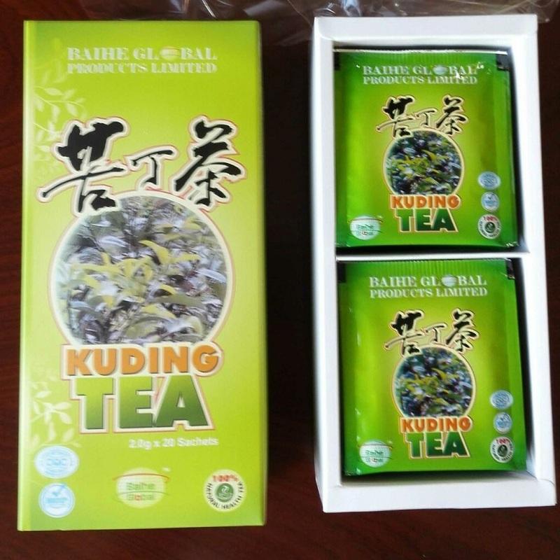 Chinese Healthy Best Slimming Kuding Tea Broadleaf Holly Leaf Tea