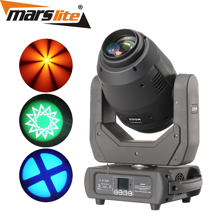 China stage lights factory LED 250W zoom+beam+spot gobo led dmx beam  wash moving head  lights