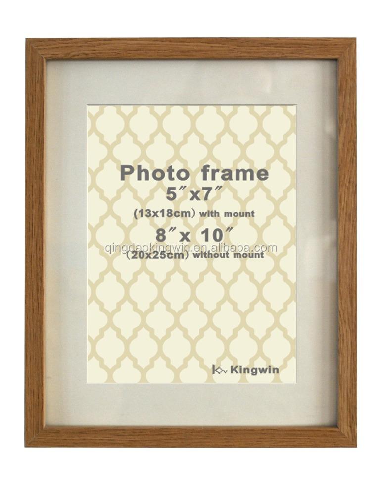8x10 \'\'calidad elegante moderno roble marco de madera foto-Marco ...