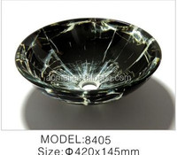 Tempered glass basin for bathroom discount 20% Model No.G-8405