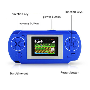 Ultra-Thin Portable 2.0'' Color screen Video Games Consoles 268-in-1 Classic Games Handheld Game player children's Puzzle Games