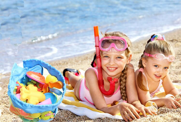 Niños Los Almacenamiento 2018 Nylon Mochila De Buy Caliente Playa Para Amazon Producto Juguetes Bolsa Malla 0wnP8Ok