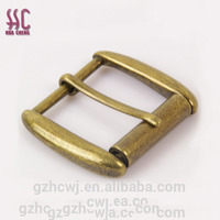 38mm brushed bronze metal buckle for bag accessories