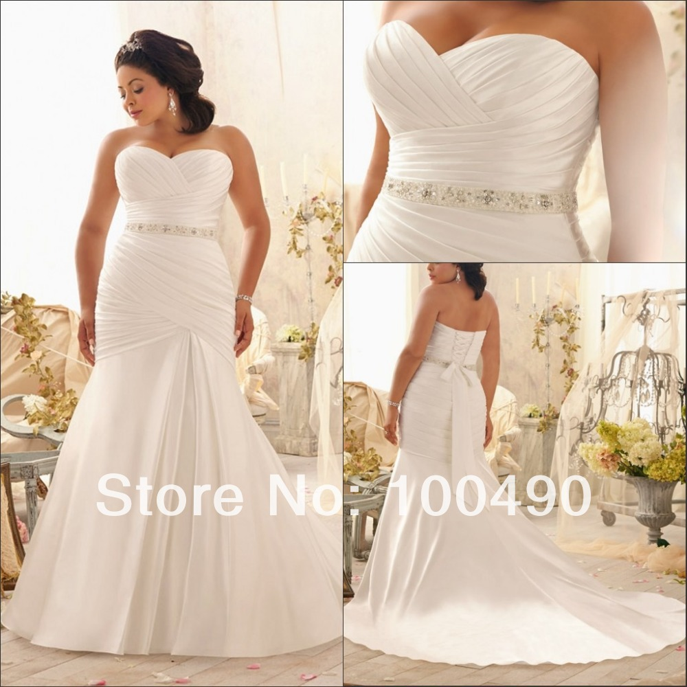 Wedding Gowns For Full Figured Brides: Russian And Brazilian Plus Size Bridal Dresses For Full