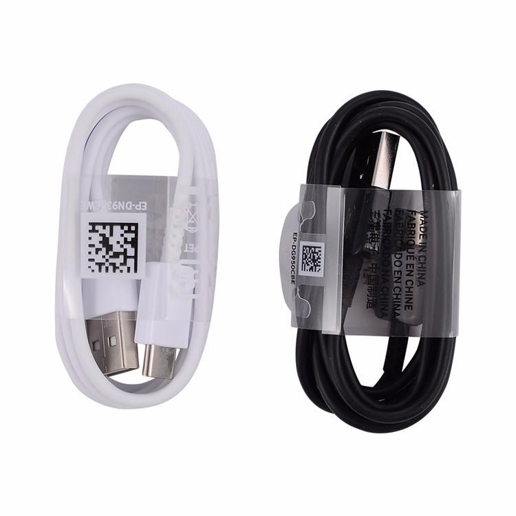 Codo de 90 ° Cable USB tipo C para Samsung S9 S8 A70 plomo cable de teléfono de carga rápida