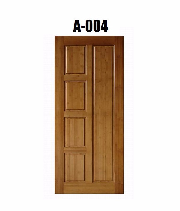 Customized Size Expression Hotel Bamboo Interior Door