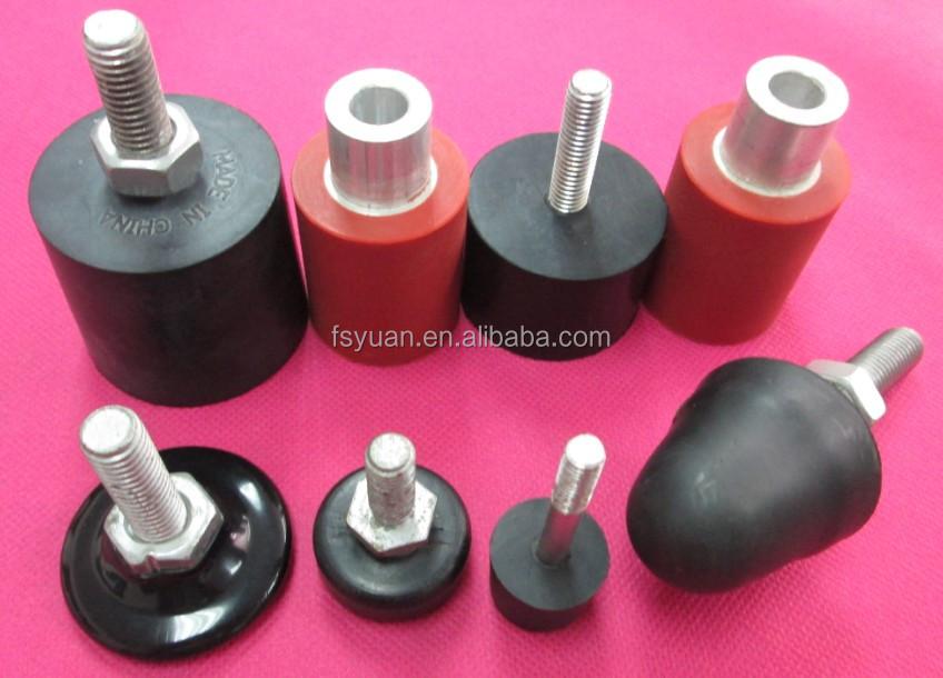 Screw rubber feet threaded rubber feet rubber bumper screw buy screw rubber feet threaded - Threaded furniture feet ...