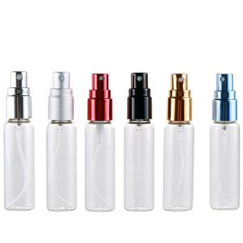Hot sale 10ml 15ml Glass Perfume Vials Mist Spray Perfumer Empty Glass Bottle for Perfume Mini Glass Vial