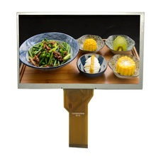 Populaire 7 inch 800x480 hoge <span class=keywords><strong>contrast</strong></span> tft lcd display unit custom