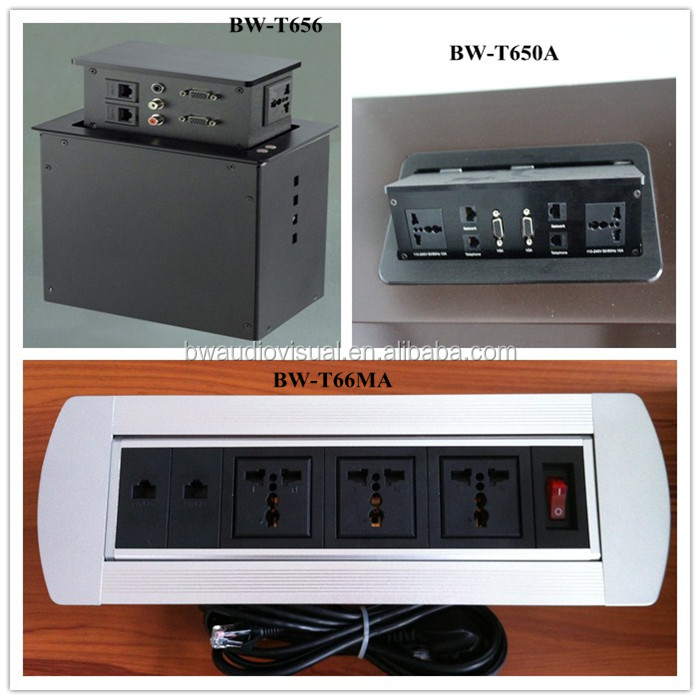 New Design Brush Electric Outlet Cover For Office Furniture