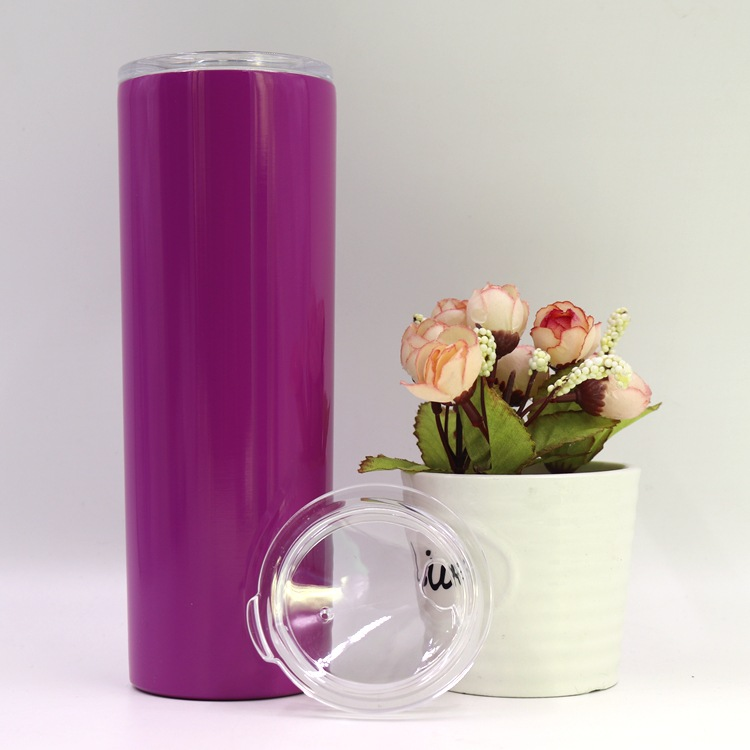 Wholesale 20 Oz Slim Tumbler with Straw For Custom Logo