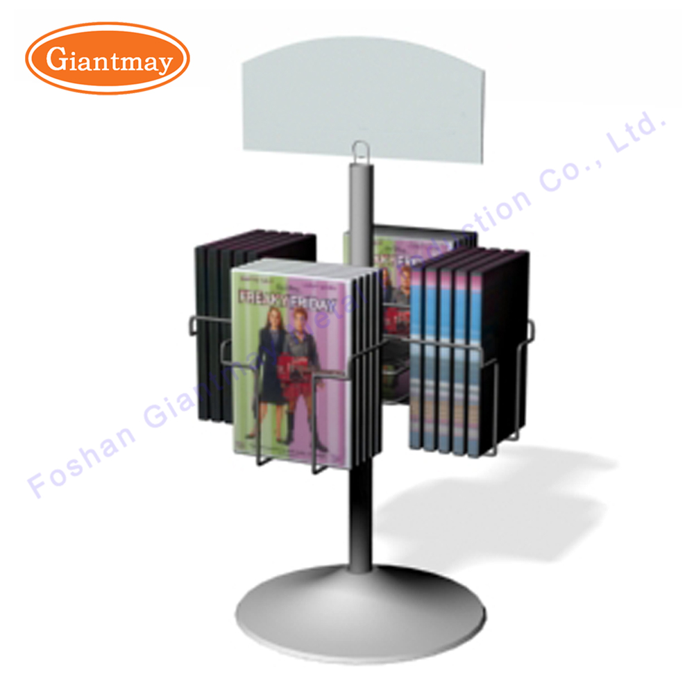 stand rotating product tabletop pocket postcard display holder acrylic rack detail spinner
