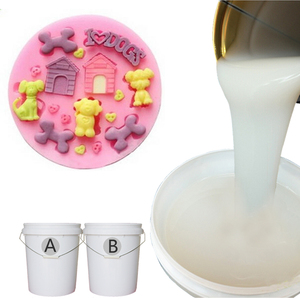 non-toxic tastless food grade rtv2 liquid silicone rubber for making cake decoration mould