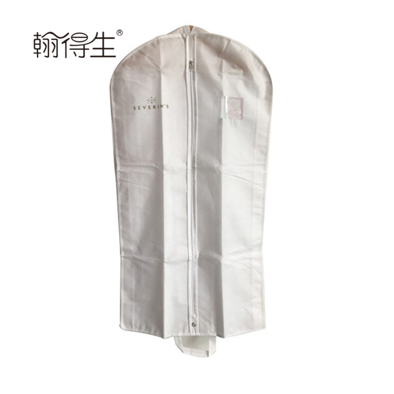 Custom Cheap price breathable non woven garment suit bag