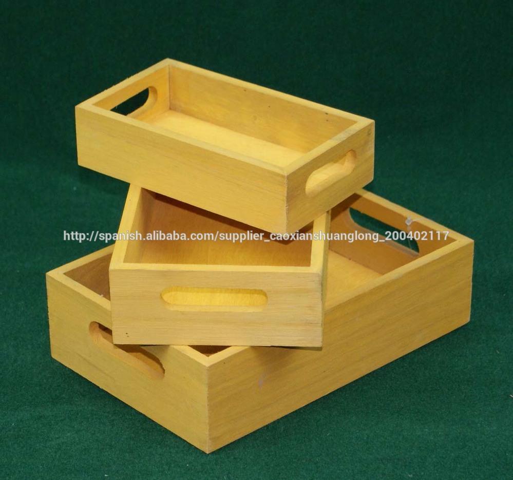 Cajas de madera de pino para botellas de vino con el - Cajas de madera para botellas ...