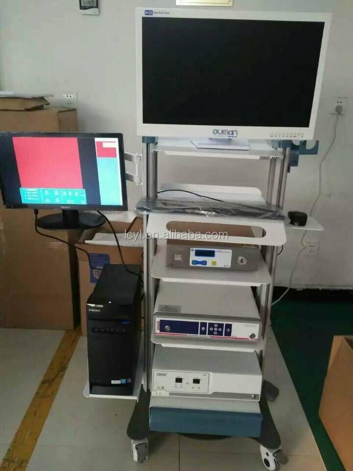 Endoscopy Department: Medical Hd Endoscopy Tower Hysteroscopy Instrument Set
