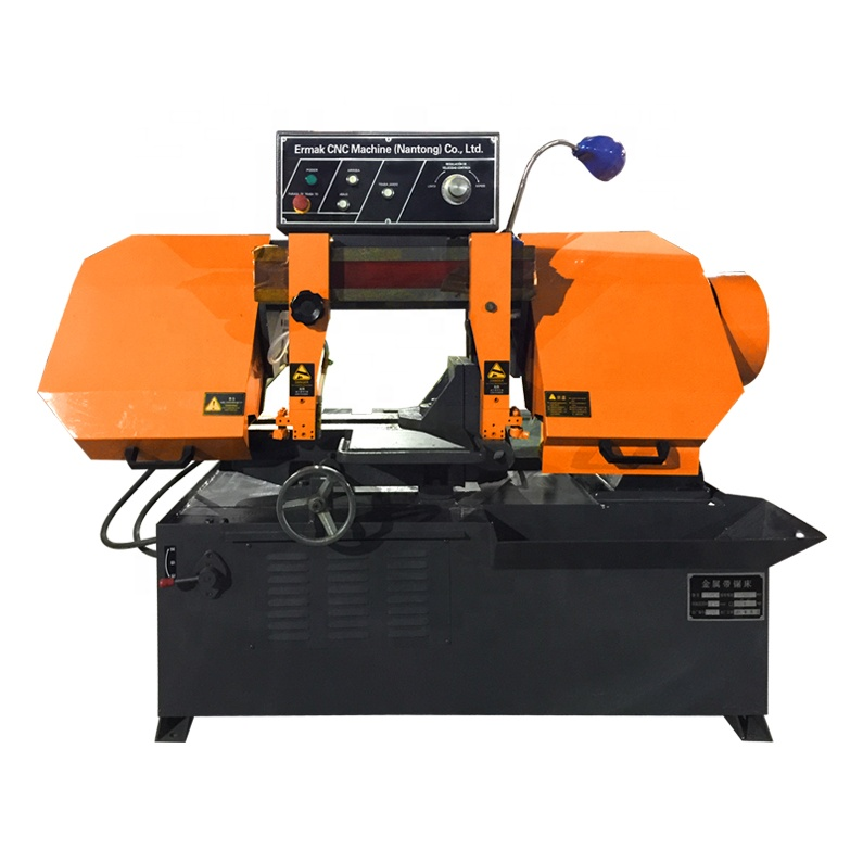 Low Price Gb4028 Industrial Metal Cutting Machine Cnc Automatic Horizontal  Band Saw - Buy Horizontal Band Saw,Cnc Band Saw,Automatic Bandsaw Product
