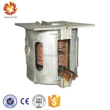 200KW induction smelter 1 ton lead melting furnace