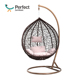 Best Selling Tear Drop Cane PE Swing Wicker Rattan Hanging Egg Chair