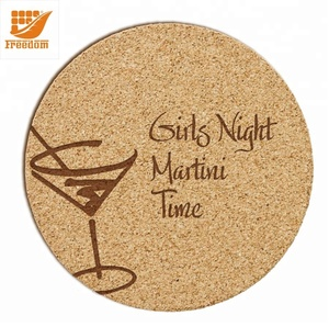 Promotional Customize Printing Coaster Low Price Cork Coasters