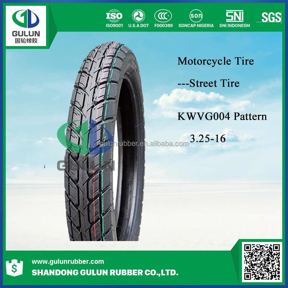motorcyle tyre / motorcycle tire casing 3.25-16