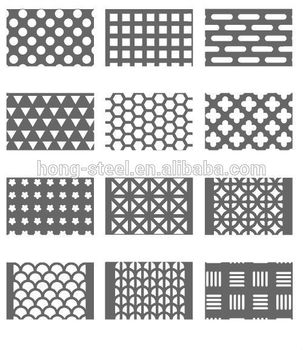 Punching Perforated Metal Sheet 300 Series Grade And Plate