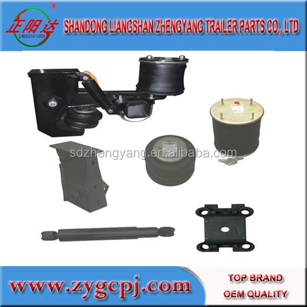 China Supplier Z Type Leaf Spring Heavy Duty Truck Trailer Air ...