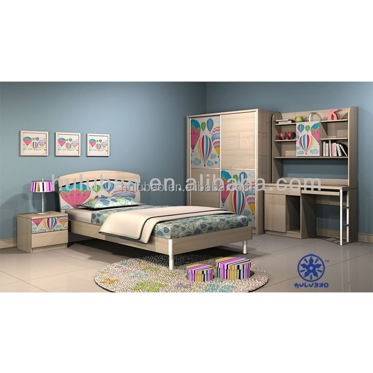 Colorful Bedroom For Kids Teenager Bed Children Bedding #1301 - Buy Bedroom  For Kids,Children Bedding,Teenager Bed Product on Alibaba.com