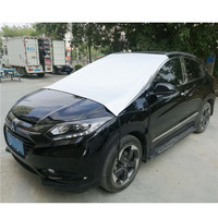 Outdoor Universal Car Front Sun Shade Windshield Snow Cover SUV Waterproof Windproof Auto Front Car Windscreen