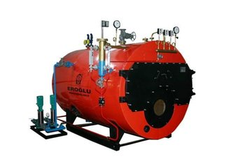 6 ton/h 10 bar 3 Pass Wet Back Steam Boiler