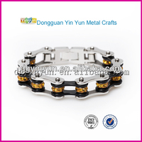Mix Color Stainless Steel Male Bracelet