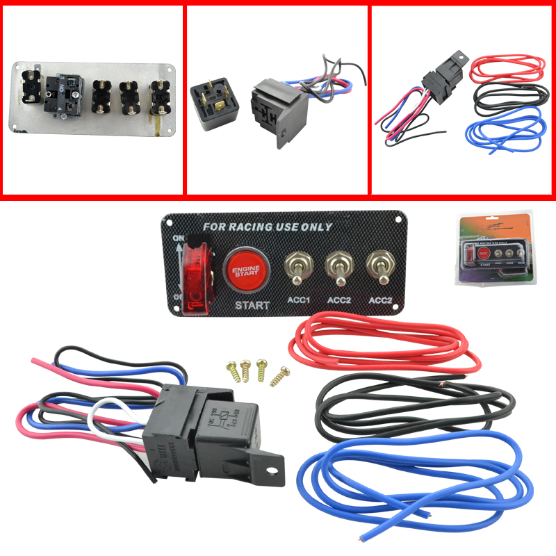 club car ignition switch diagram auto racing 3 switch panels red cover toggle switch 12v ...