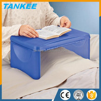 Plastic Storage folding lap desk, Mini plastic folding computer desk, multi function desk