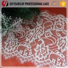 Wholesale Black Eyelet Knitting Trim Lace For Lingerie