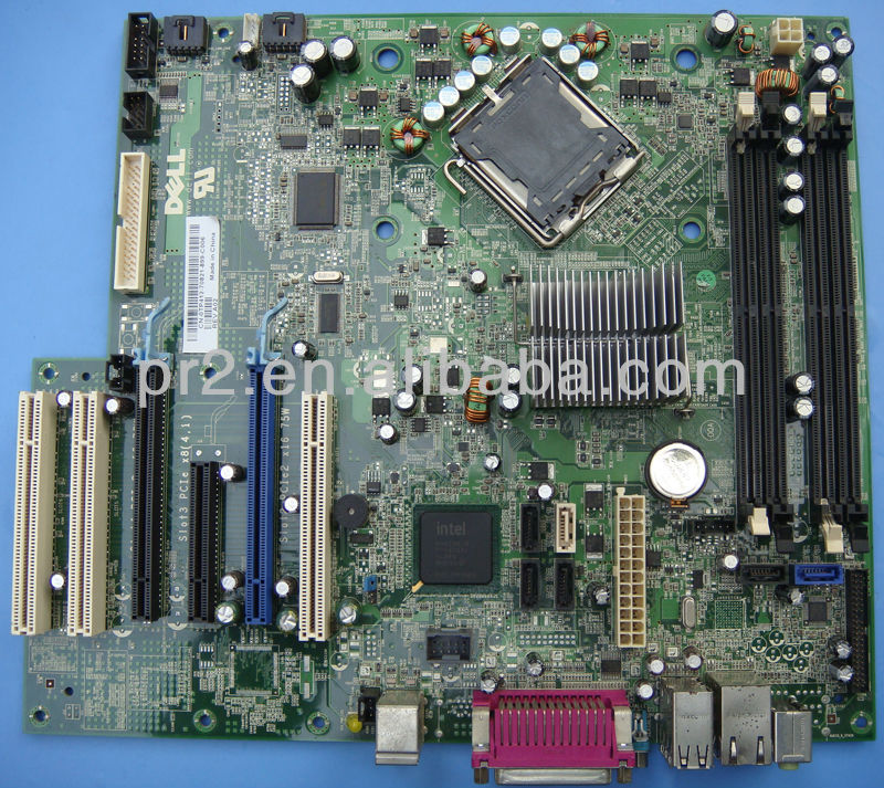 In New 90% Motherboard For Dell Desktop Computer T3400 0tp412 ...