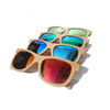 2018 New wooden bamboo sunglasses with polarized lens